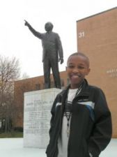 A6: 13 yr Old Stephen Stafford attends MOREHOUSE COLLEGE….. WoW!!