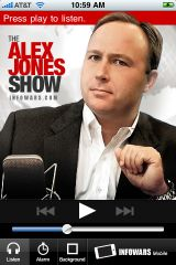 A23: Alex Jones iPhone App Shoots to the TOP of iTunes Store Chart….